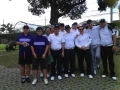 ATM team at Palmer 1 before their match with The Swingers