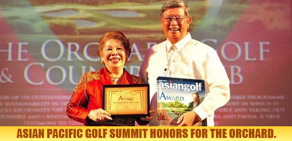 Asian Pacific Golf Summit Honors for The Orchard2