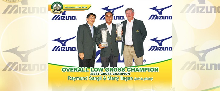 Overall Low Gross Champion