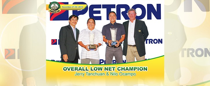Overall Low Net Champion